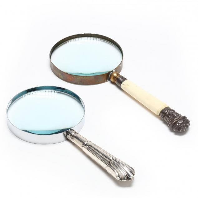 two-english-magnifying-glasses