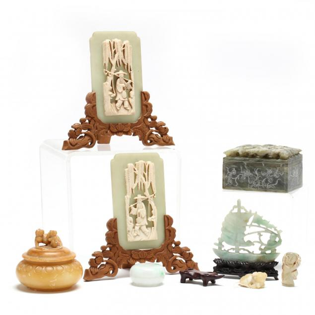 group-of-chinese-stone-carvings