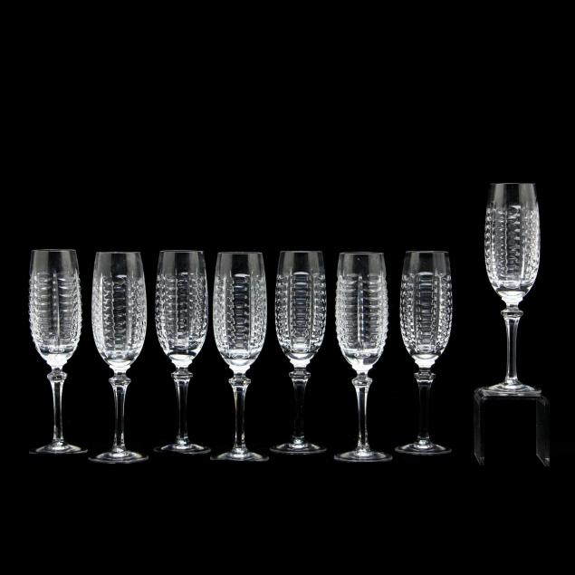 gorham-eight-crystal-champagne-flutes