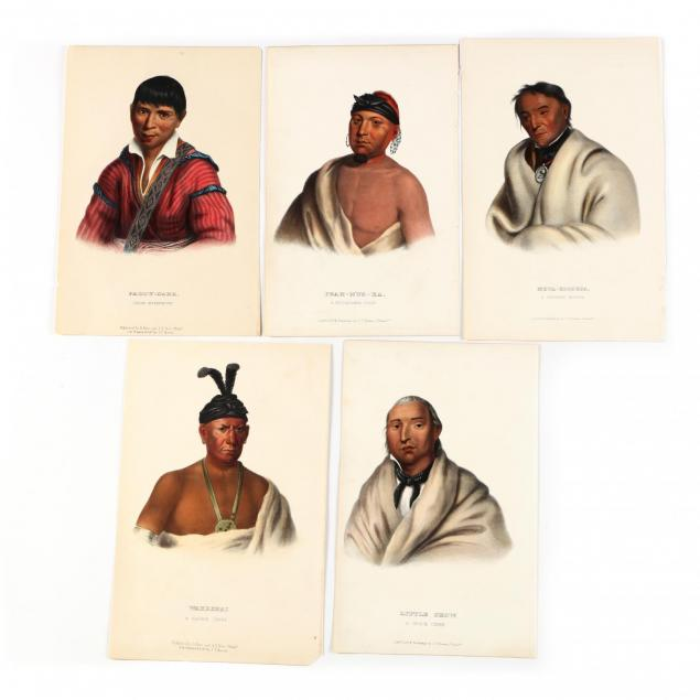 five-mckenney-hall-indian-lithographs