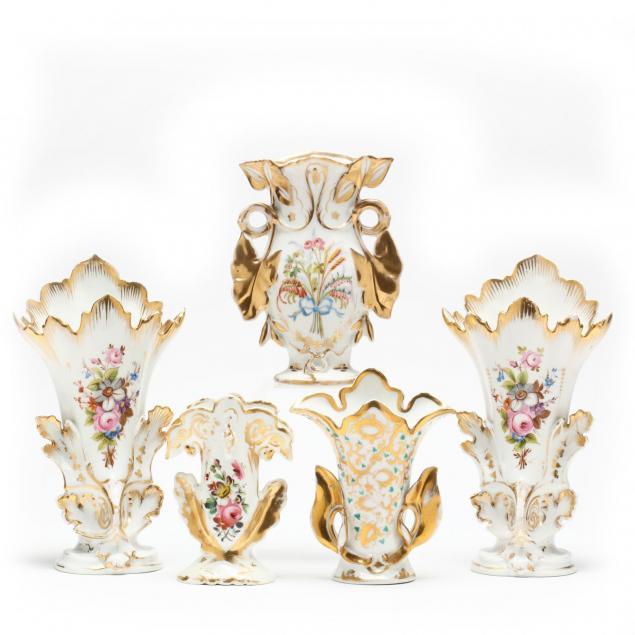 group-of-paris-porcelain-vases