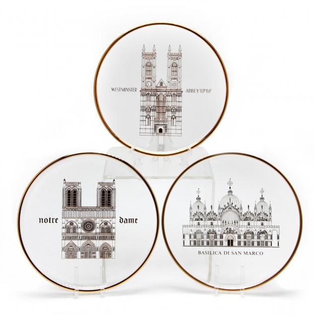 three-orrefors-annual-plates