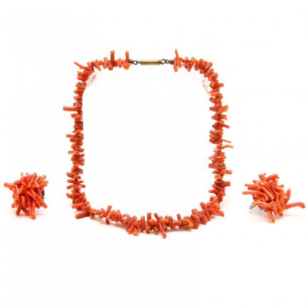 coral-jewelry-set