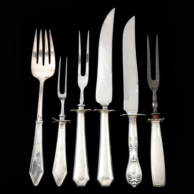 six-sterling-handled-carving-accessories