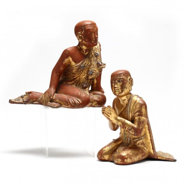 two-southeast-asian-carved-and-lacquered-deities