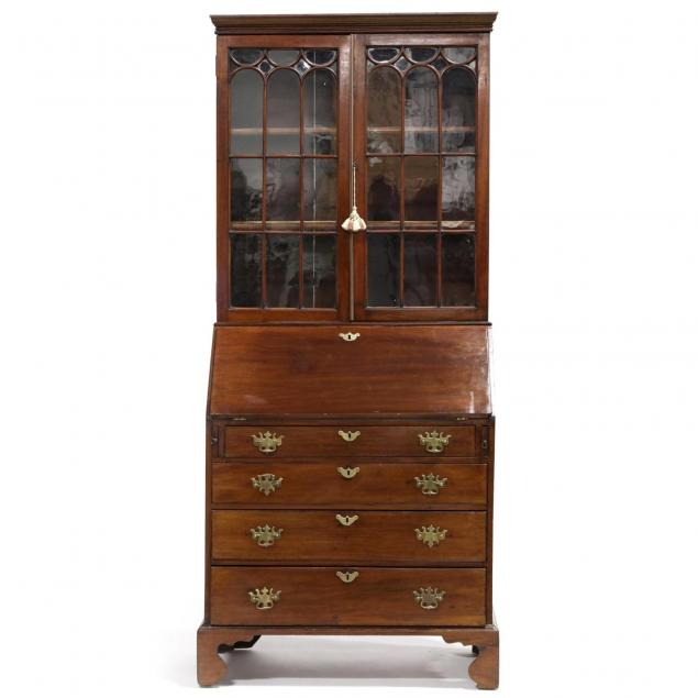 chippendale-secretary-bookcase