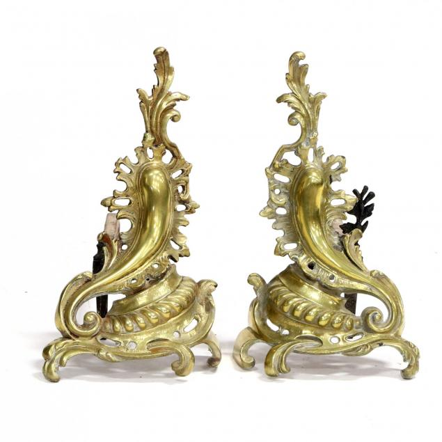 pair-of-continental-brass-chenets