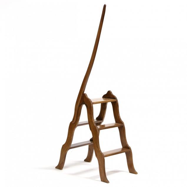italian-folding-library-ladder
