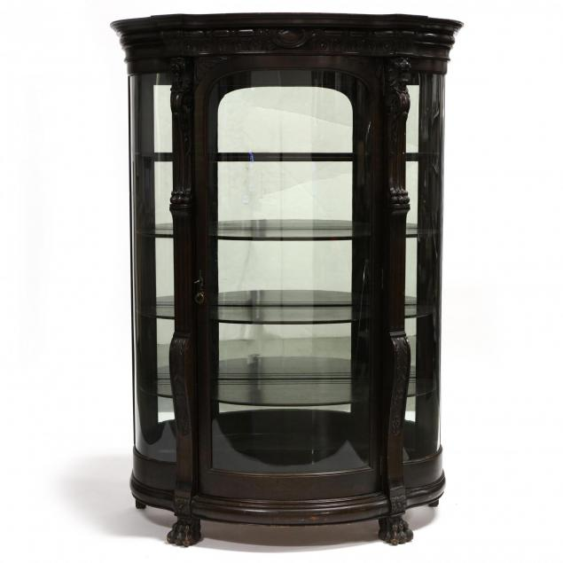 late-victorian-carved-bowfront-china-cabinet