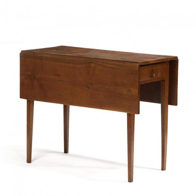 southern-hepplewhite-one-drawer-dropleaf-table