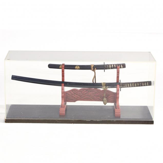 japanese-sword-set-consisting-of-a-katana-and-a-wakiszashi