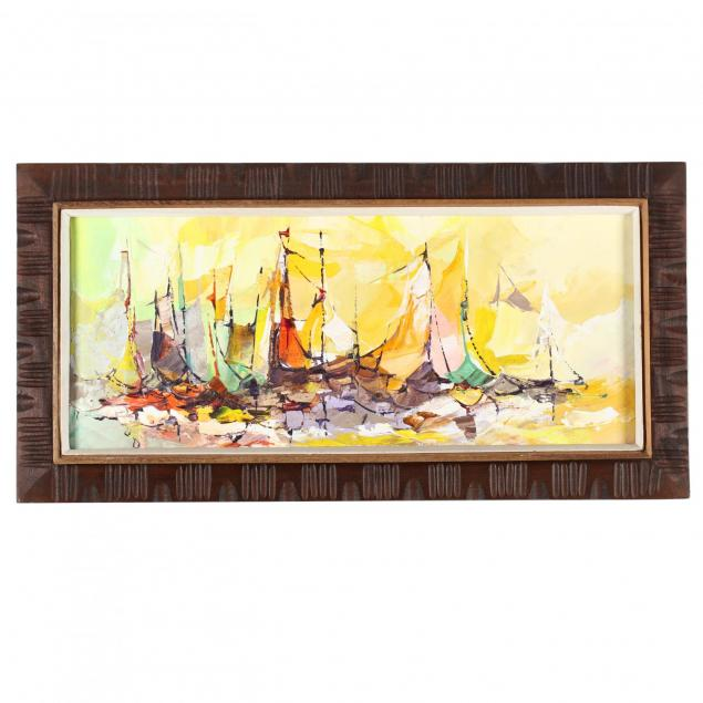 haitian-school-painting-of-boats