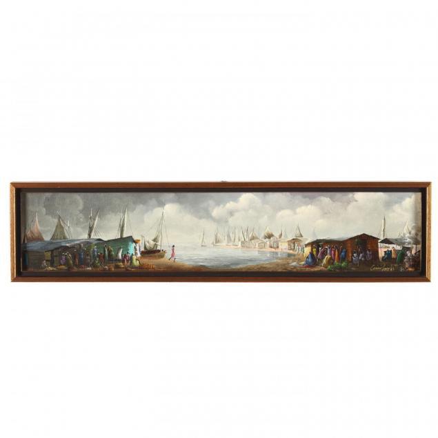 casimir-joseph-haitian-b-1941-harbor-market