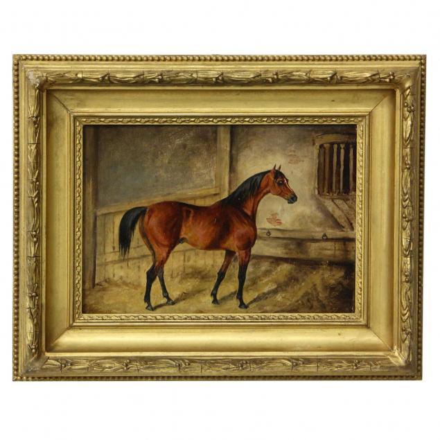 english-school-portrait-of-a-horse