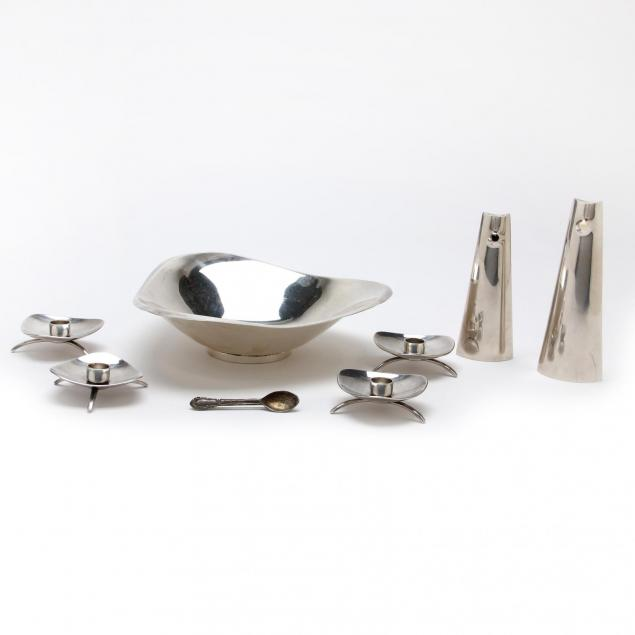 a-collection-of-danish-modern-silver-table-accessories