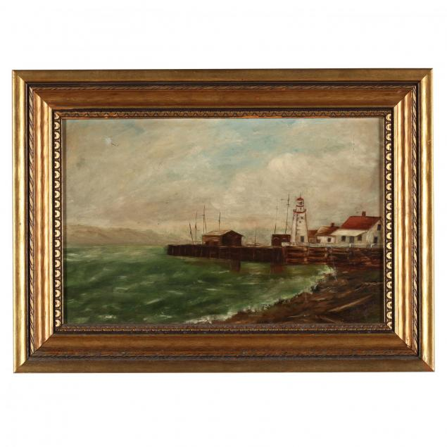 american-school-harbor-scene-with-lighthouse