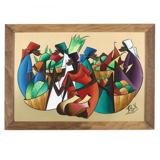 haitian-painting-taking-a-break