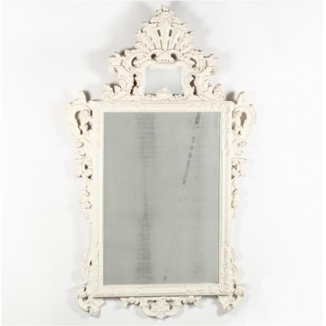 contemporary-rococo-style-painted-mirror