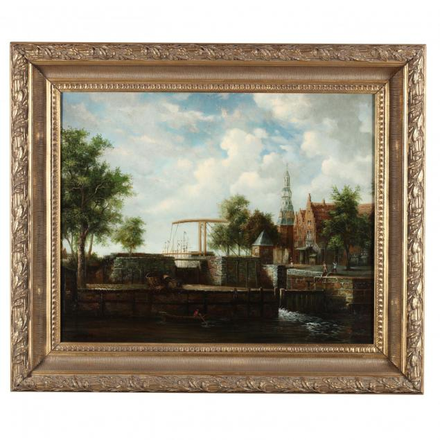 contemporary-continental-harbor-painting