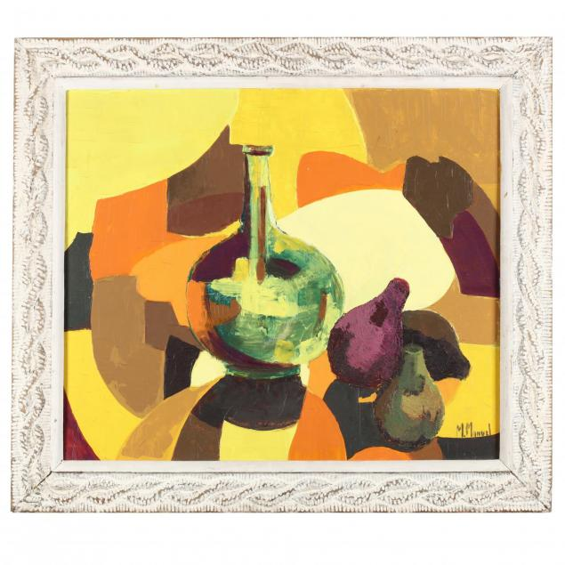 michelle-manuel-haitian-b-1935-still-life-with-vase