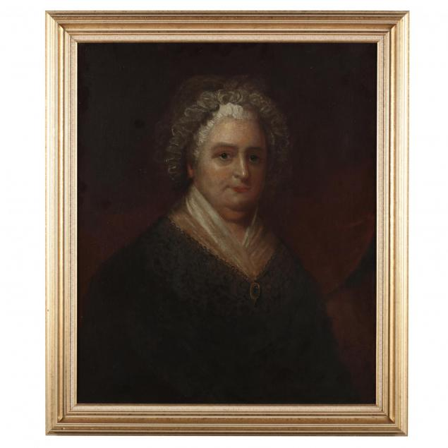 antique-portrait-of-martha-washington
