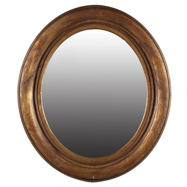 antique-oval-framed-mirror