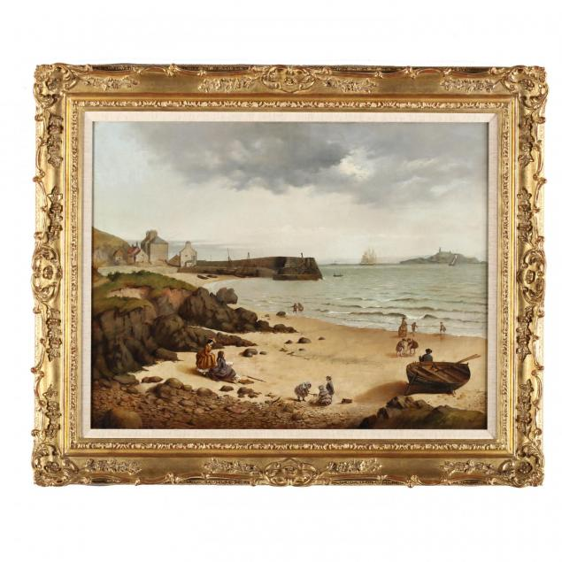 john-myles-british-fl-1850-1873-along-the-seashore