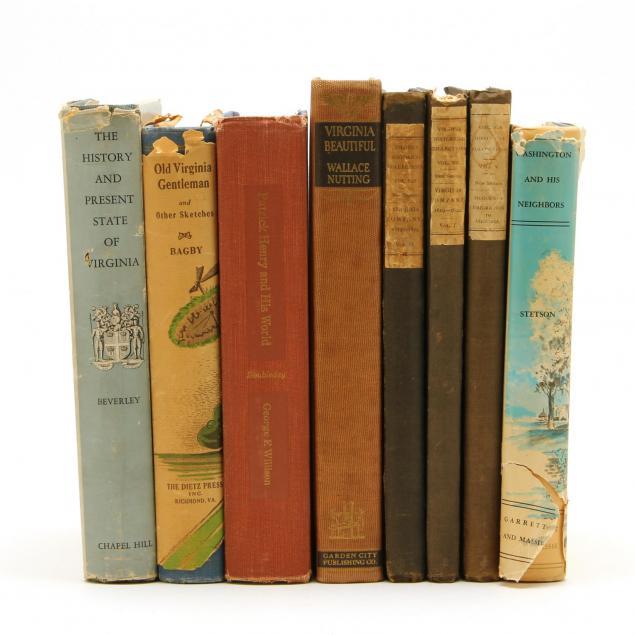 eight-books-of-virginia-interest