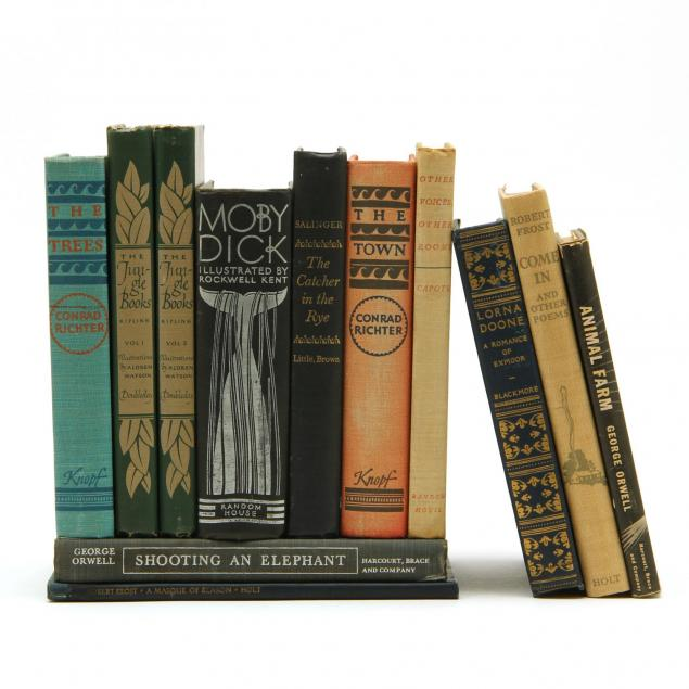 twelve-vintage-literature-books