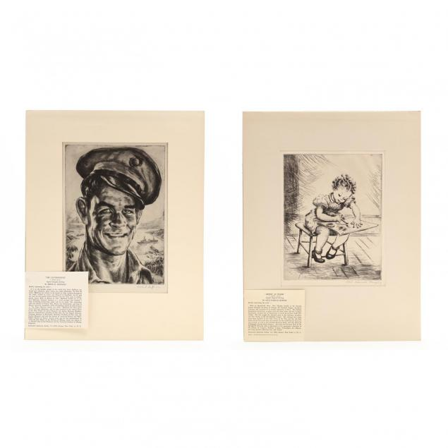 two-figural-etchings-hoffman-and-murphy