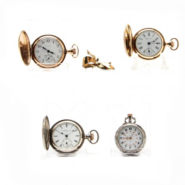 four-lady-s-vintage-pocket-watches