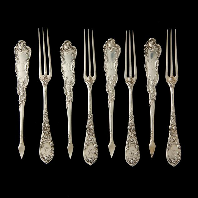 eight-sterling-silver-berry-forks-nut-picks