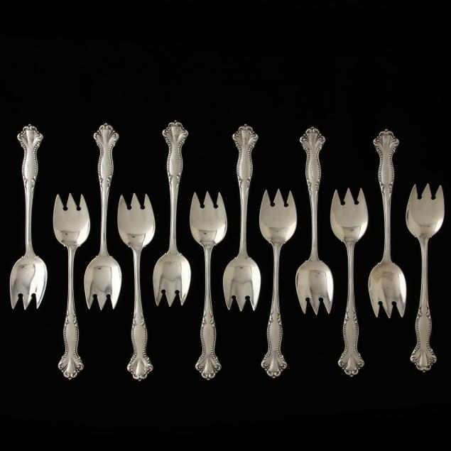 set-of-twelve-sterling-silver-ice-cream-forks
