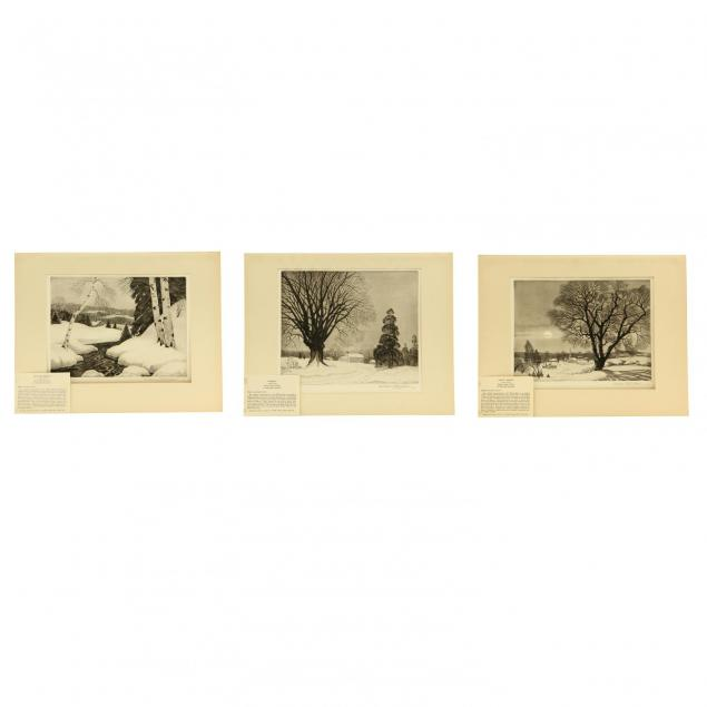 william-maclean-american-1897-1977-three-winterscapes