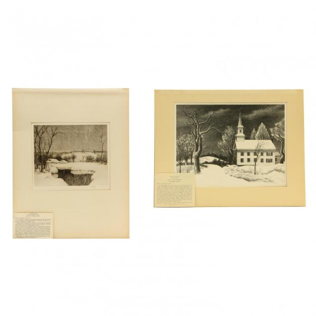 two-snowy-scenes-by-members-of-associated-american-artists-fiene-and-young