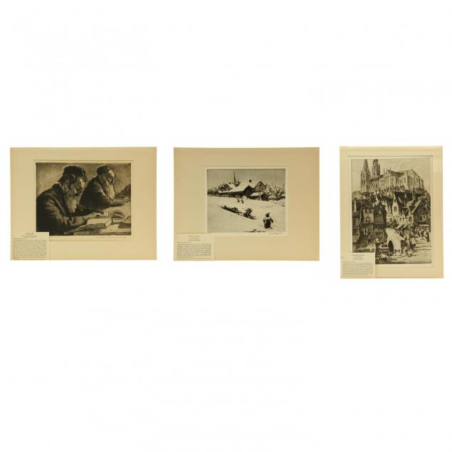 three-etchings-by-members-of-associated-american-artists-karoly-reynard-and-margulies