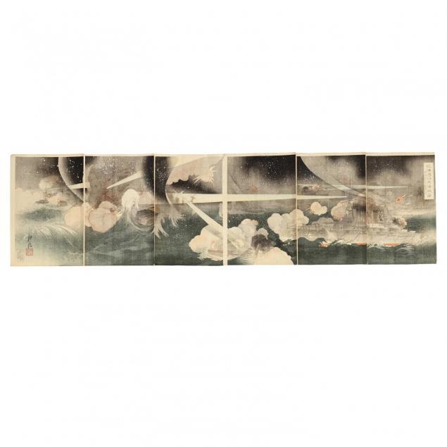 six-panel-russo-japanese-war-print-by-okura-koto
