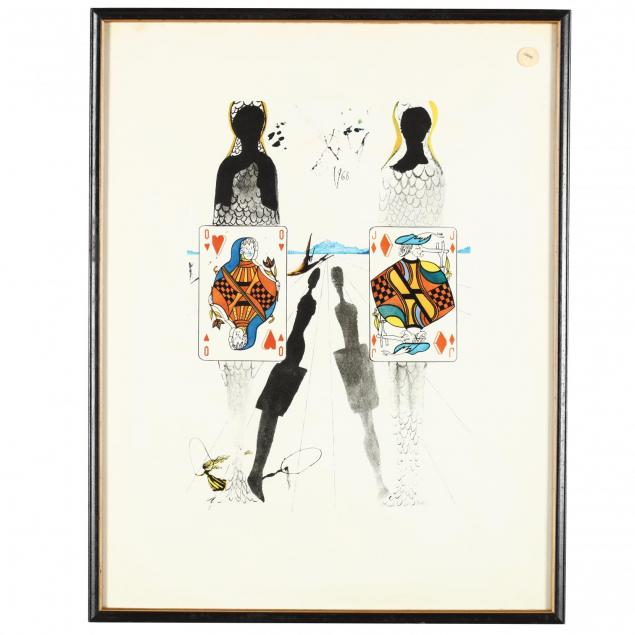 a-print-after-salvador-dali-s-the-queen-s-croquet-ground