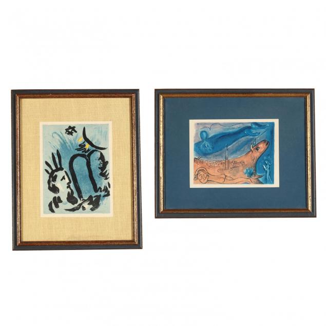 marc-chagall-french-russian-1887-1985-two-color-lithographs
