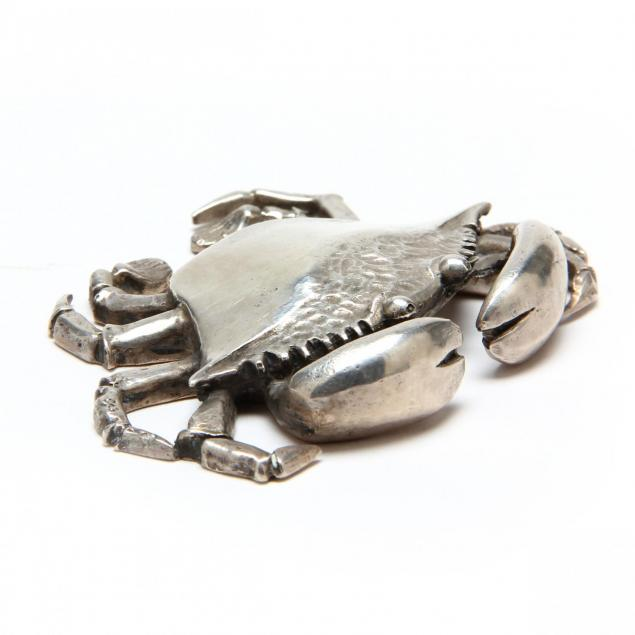 a-sterling-silver-crab-by-s-kirk-son