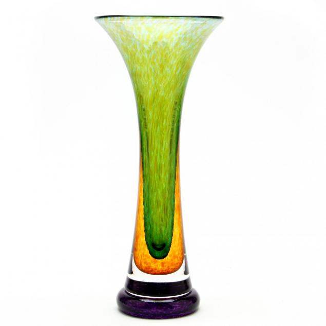 young-constantin-art-glass-vase