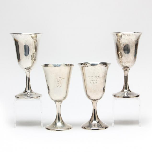 an-assembled-set-of-four-sterling-silver-goblets