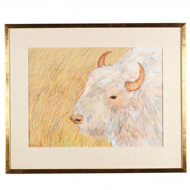 nanette-mize-rogers-nc-1945-2007-white-buffalo
