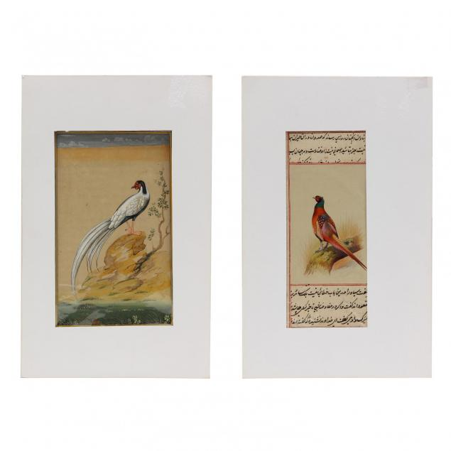 two-persian-minature-paintings