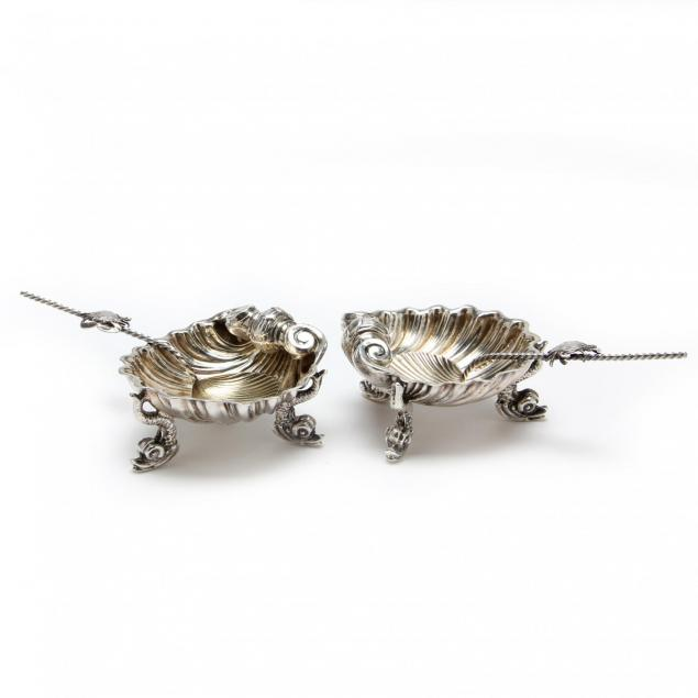 a-pair-of-victorian-silver-shell-form-salts