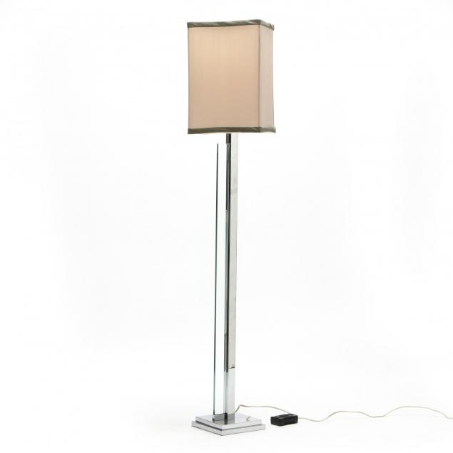 modernist-chrome-and-glass-floor-lamp