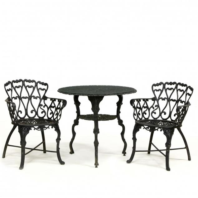 three-piece-cast-aluminum-garden-set