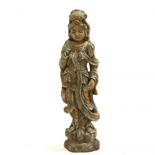 cast-stone-figure-of-guanyin