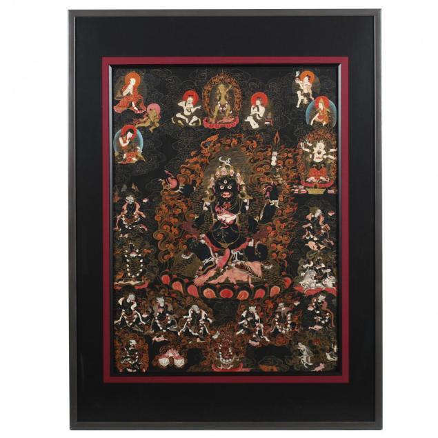 tibetan-thangka-of-mahakala