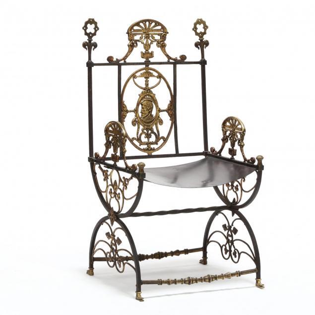 attr-oscar-bach-savonarola-chair